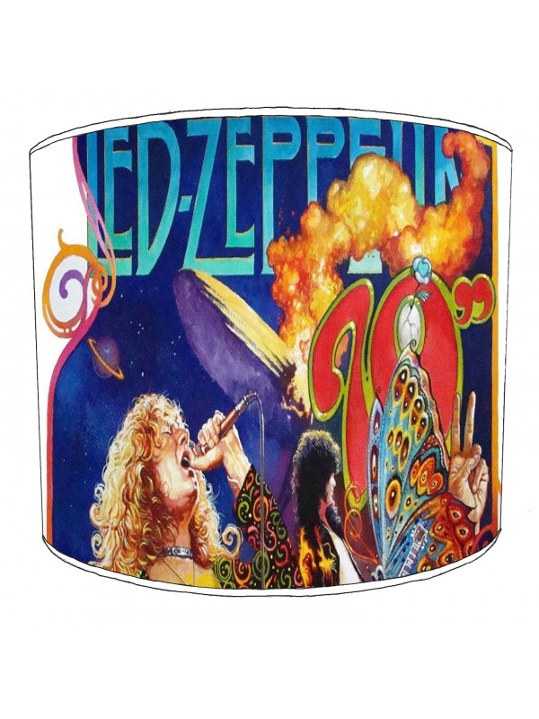led zeppelin rock bands lampshade 9