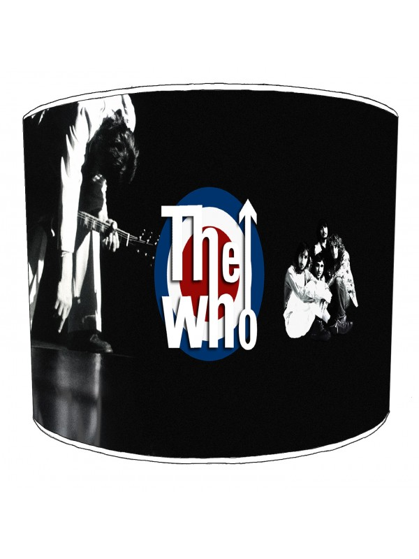 the who rock bands lampshade 2