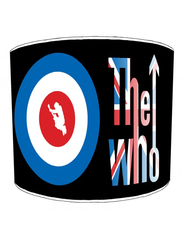 the who rock bands lampshade 3