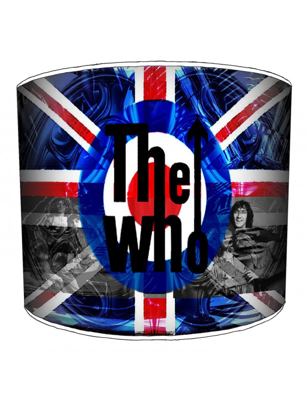 the who rock bands lampshade 4