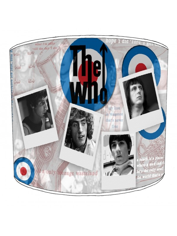the who rock bands lampshade 6