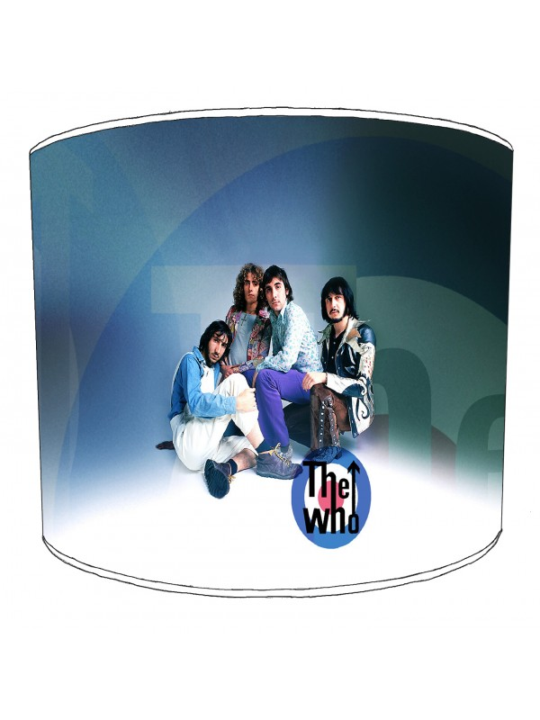 the who rock bands lampshade 7