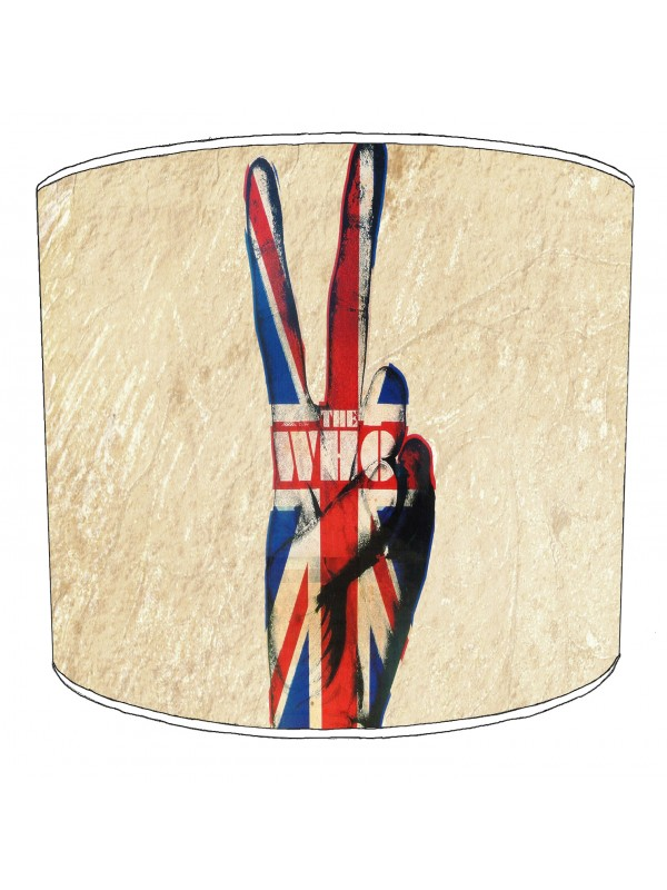 the who rock bands lampshade 8