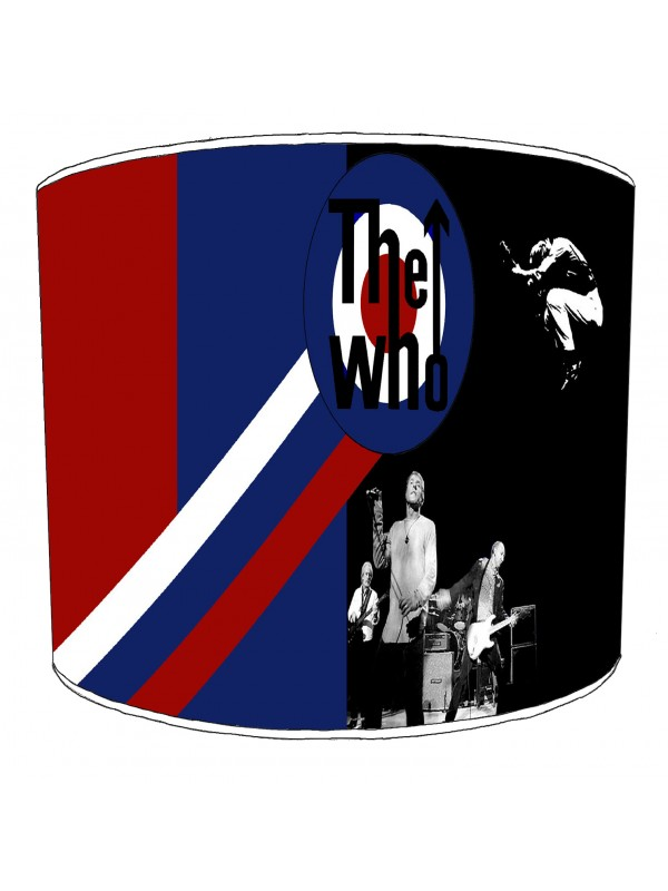 the who rock bands lampshade 9