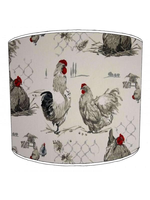 vintage birds lampshade 11