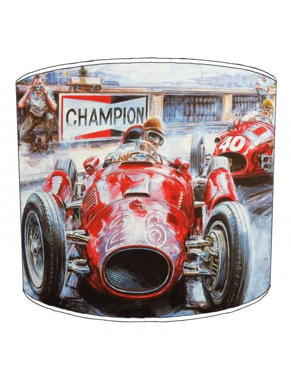 vintage cars lampshade 1