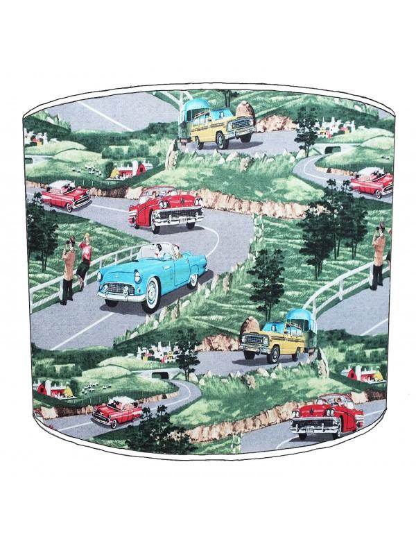 vintage cars lampshade 6