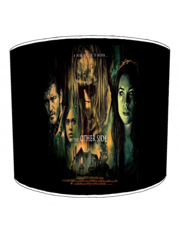 vintage horror films lampshade 18