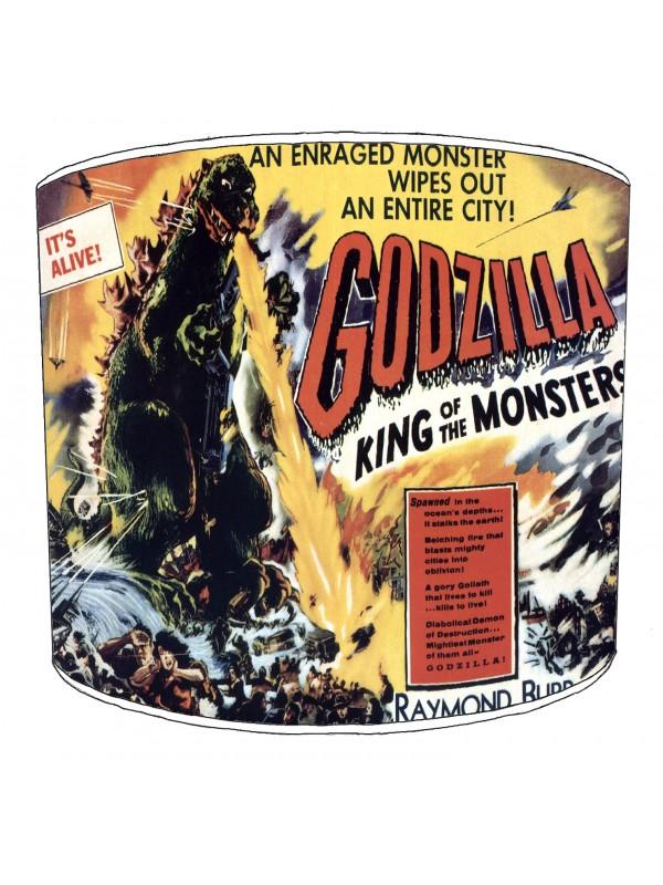 vintage horror films lampshade 19
