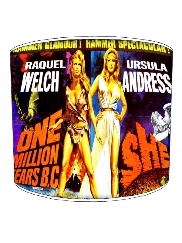 vintage horror films lampshade 20