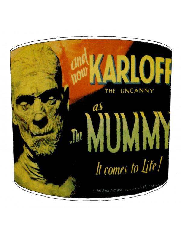 vintage horror films lampshade 22