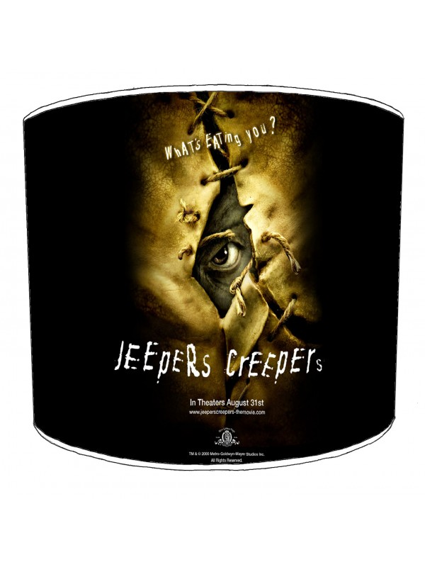 vintage horror films lampshade 24