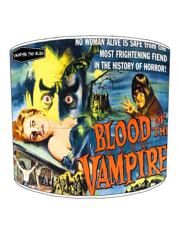 vintage horror films lampshade 25
