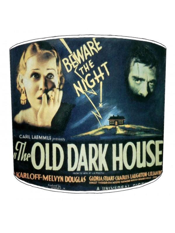 vintage horror films lampshade 32