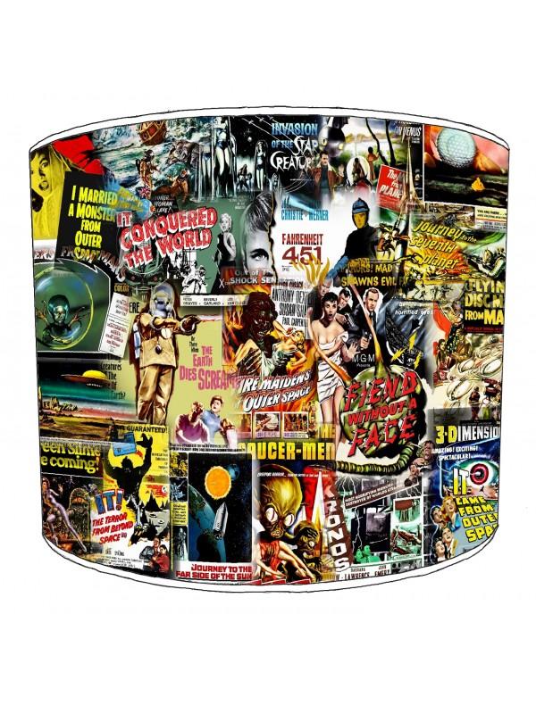 vintage horror films lampshade 35