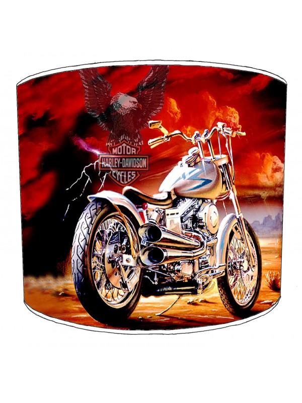 vintage motorbike lampshade 5