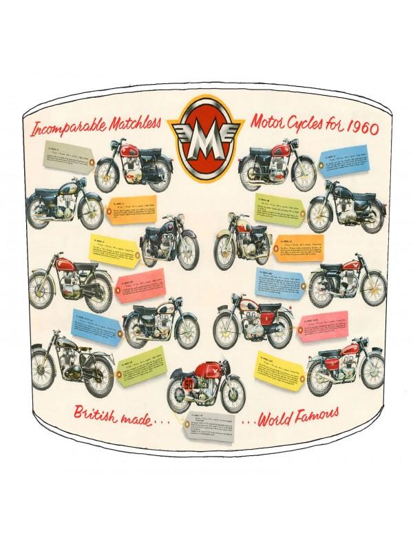 vintage motorbike lampshade 8