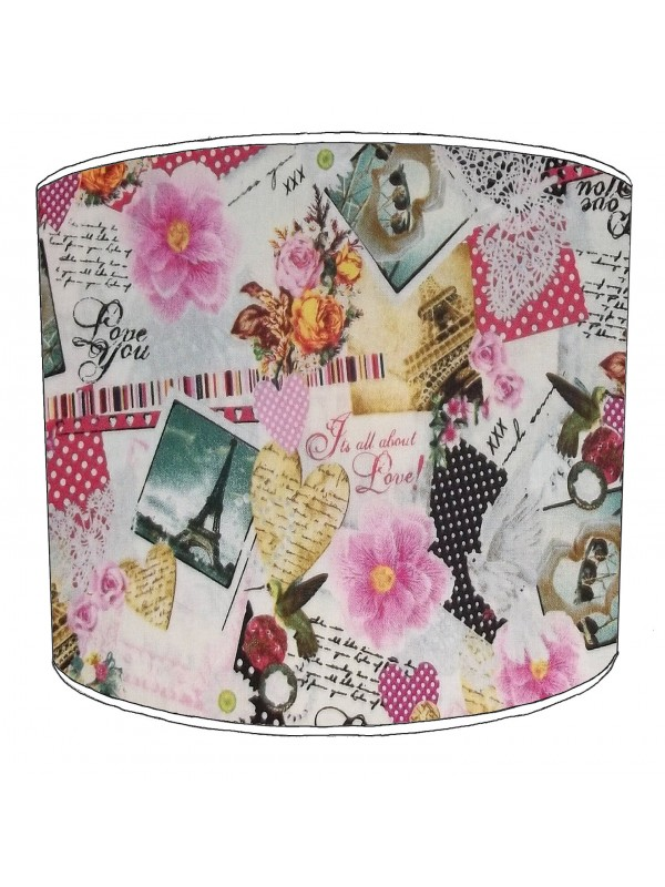 vintage paris lampshade 3