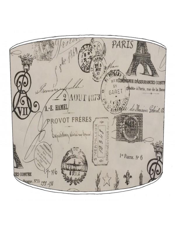vintage paris lampshade 4