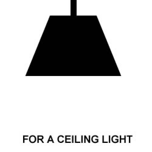 Ceiling Light +£1.00