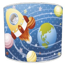Space Childrens Lampshades
