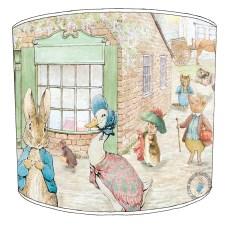 Beatrix Potter Childrens Lampshades