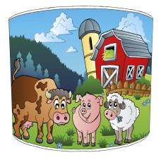 Farmyard Childrens Lampshades