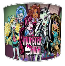 Monster High Childrens Lampshades