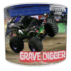 Monster Truck High Childrens Lampshades