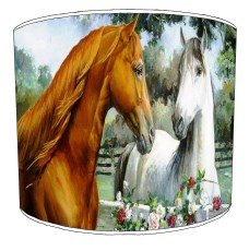 Horses Childrens Lampshades