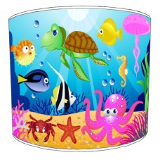 Sea Life Childrens Lampshades