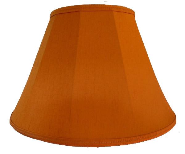Burnt orange fabric lampshades wall lights table floor standard fabric lampshades aloadofball Gallery