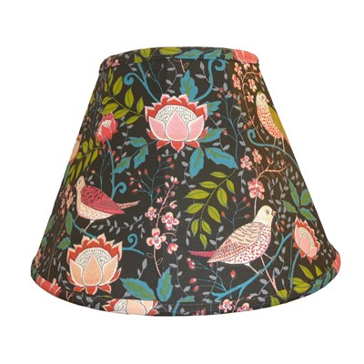 Handmade Lined SOFT Lampshade William Morris /& co Strawberry Thief Slate 39cm